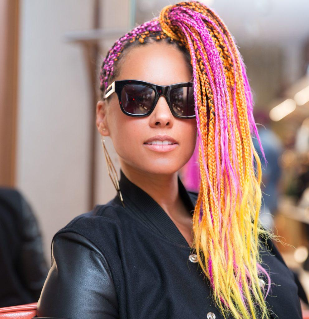 Pity, Alicia keys hairstyles think