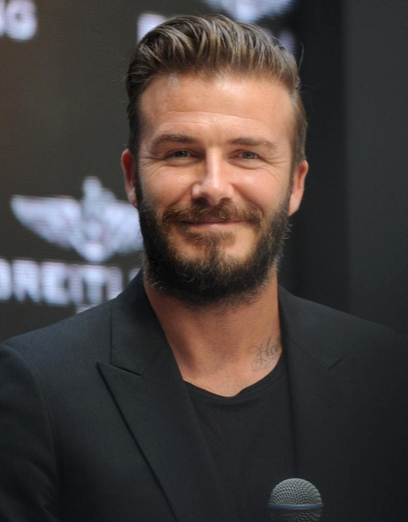 Hair Hits David Beckham S Greatest Hairstyles From Then