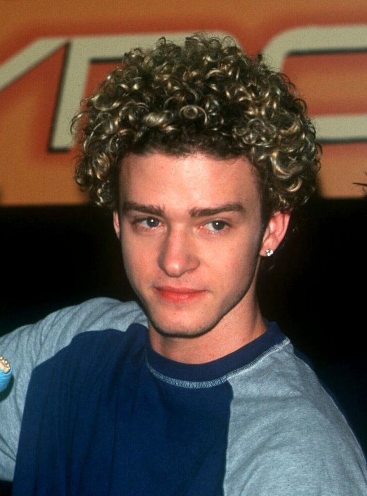 6 Of Justin Timberlake S Unforgettable Nsync Hair Moments