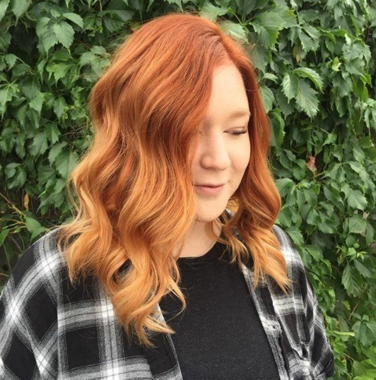 Crazy For Copper Copper Ombre Colours To Show Your Stylist All