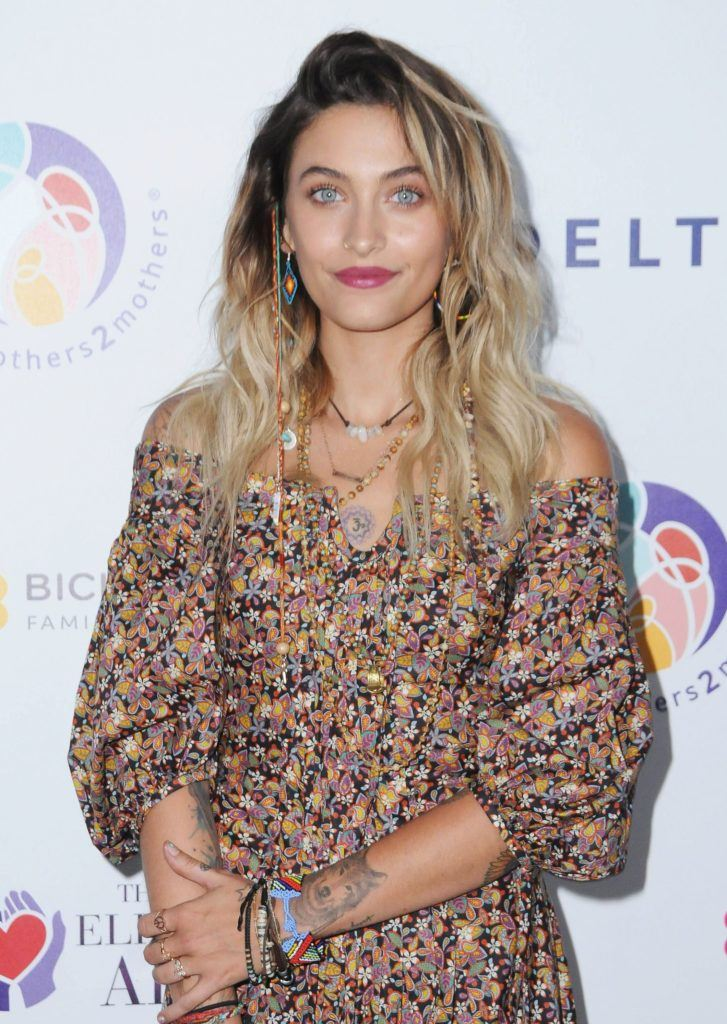 michael jackson's daughter paris jackson with rock chick grown out roots and boho clothes