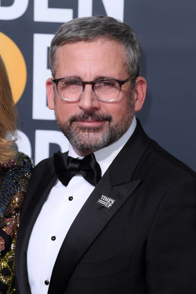steve carell grey crew cut