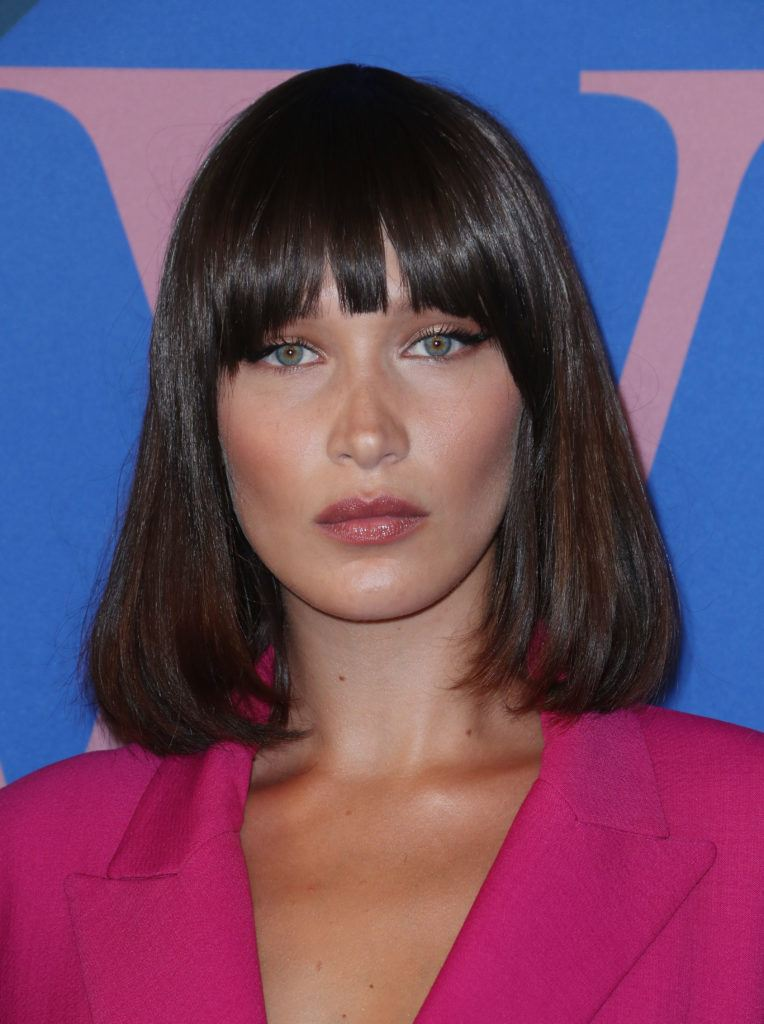 13 blunt bangs looks from the red carpet you\'ll want to copy