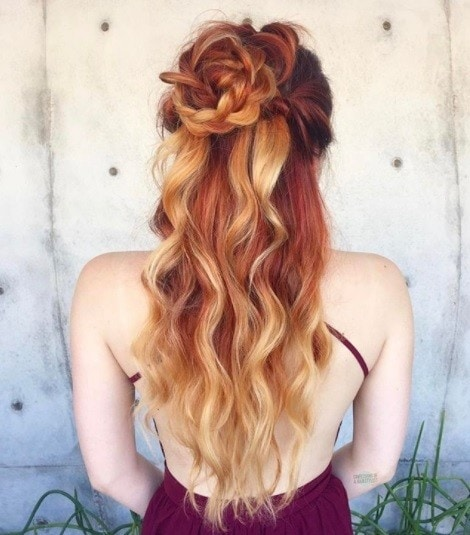 Half Braided Hairstyles 7 Best Of Both Worlds Styles All Things