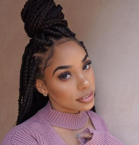 7 Stylish Box Braids Updo Looks Every Braid Lover Should Try At