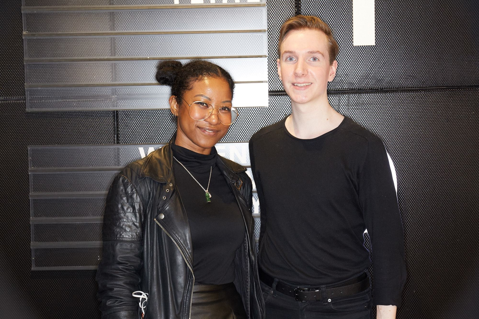ATH's Jeanette and Steven at the VO5 New Look store opening