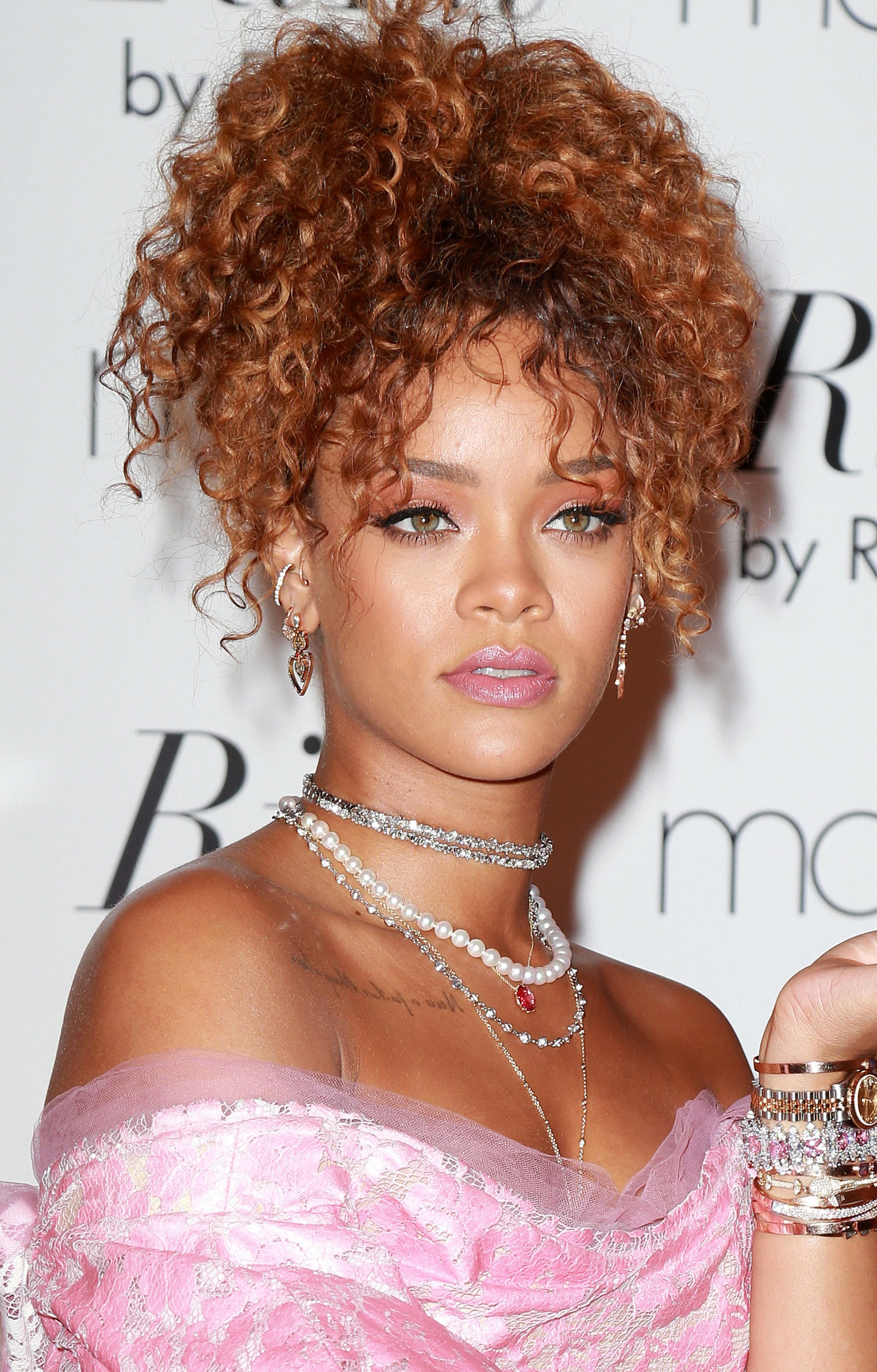 See How To Style Curly Hair And Bangs The A List Way