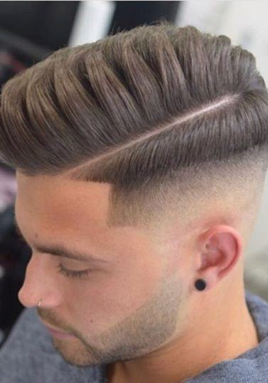 Mens Quiff Hairstyle Styling Ideas