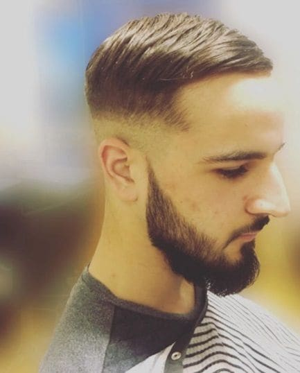 Taper Comb Over Haircut Ideas 2018s Most Wearable Hair Trend