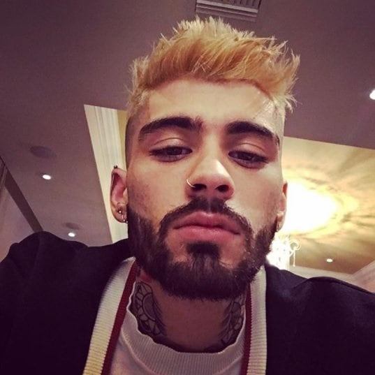 The Latest Male Celebrity Hair Makeovers Feat Zayn S