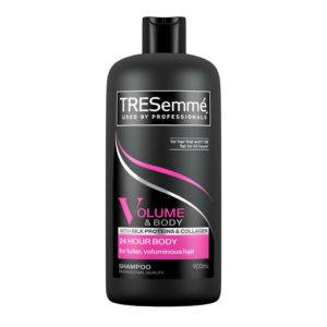 tresemme 24hour body volume and body shampoo