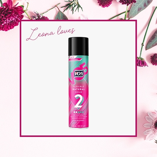 Spring hair detox: Shot of the VO5 Flexible Hold Hairspray
