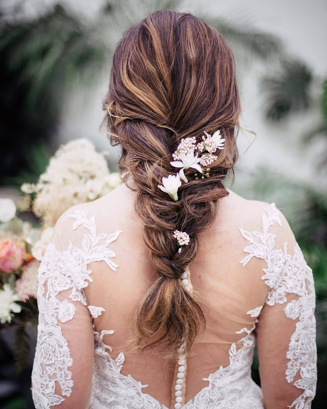 Wedding Hairstyles With Box Braids: 47 Stunning Wedding Hairstyles All Brides Will Love