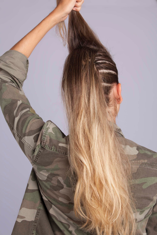 corte de pelo mohicano