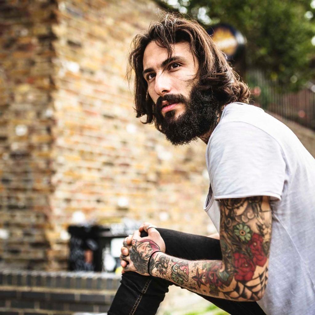 peinados de ltima moda para hombres de pelo largo with pelo largo para hombres