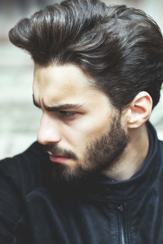 peinados para caballeros