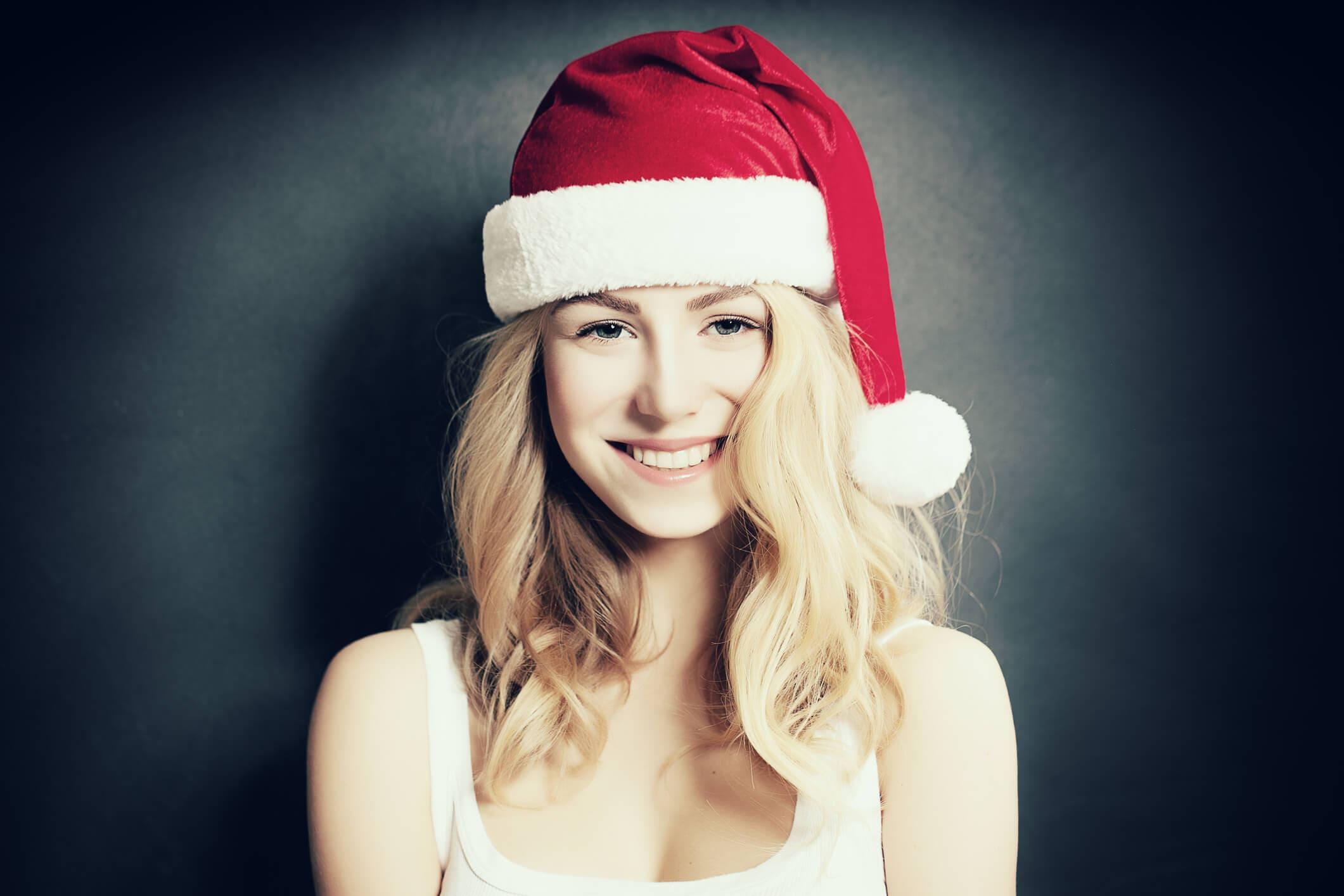 ondas románticas peinados para navidad