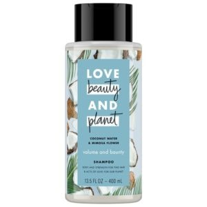 LOVE, BEAUTY and PLANET COCONUT WATER & MIMOSA FLOWER SHAMPOO