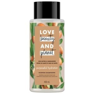 LOVE, BEAUTY and PLANET SHEA BUTTER & SANDALWOOD SHAMPOO