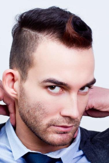 mohicano peinado corto