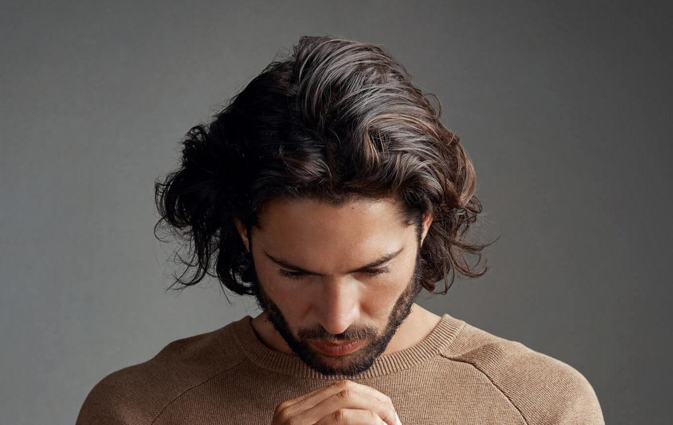 cómo hacer cortinas en el cabellocortina lateral