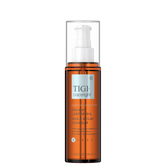 COPYRIGHT by TIGI CUSTOM CREATE COLOUR LUSTRE OIL