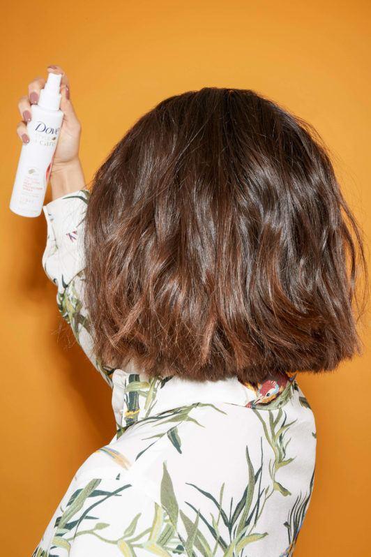 cabello lacio de plancha