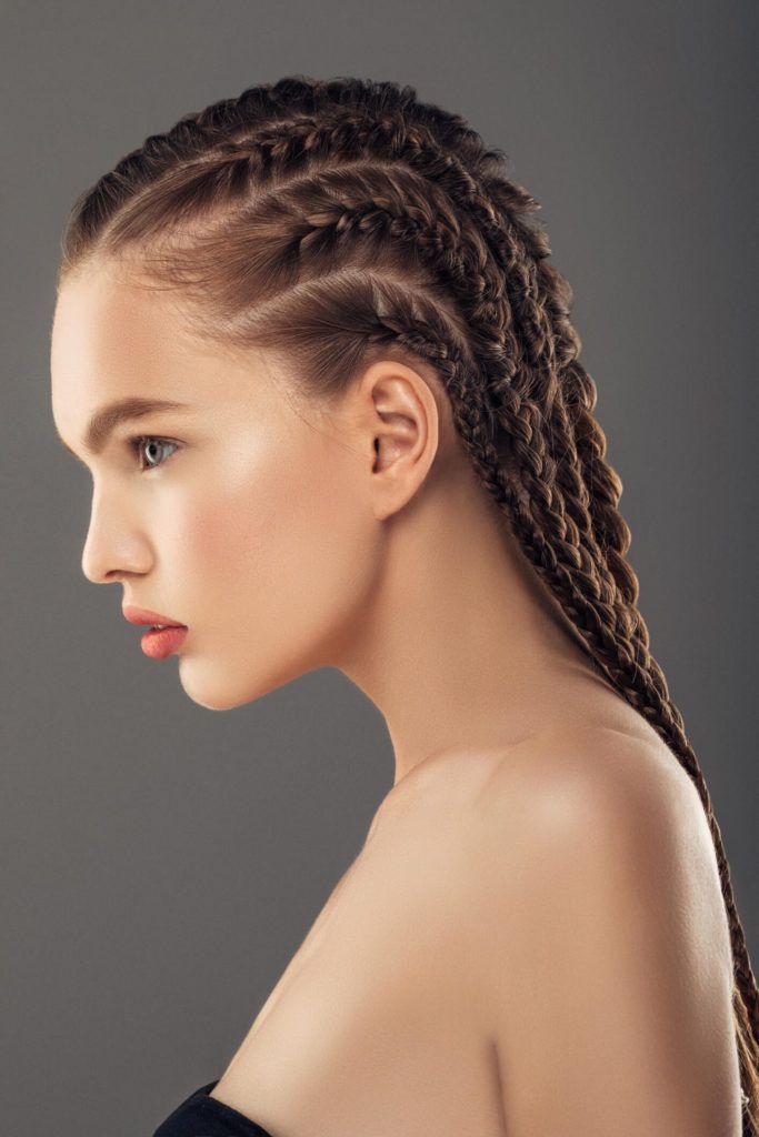 Ideas bonitas para peinados de feria 2021 Colección de estilo de color de pelo - Peinados con trenzas para fiestas: 10 Estilos para girar ...
