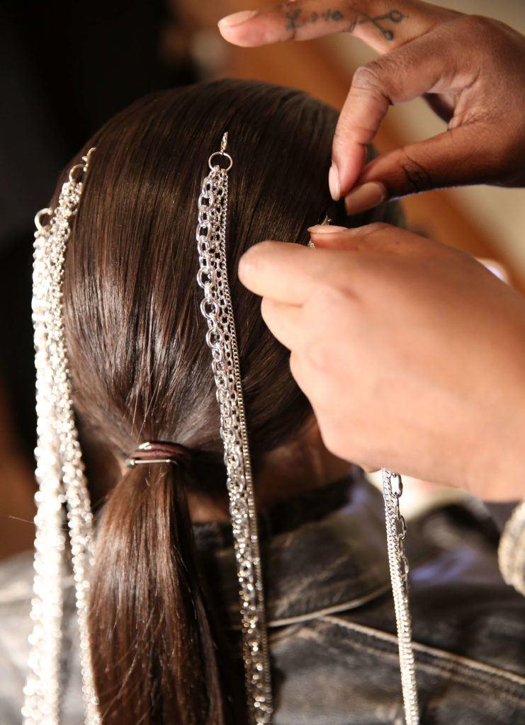cabello encadenado