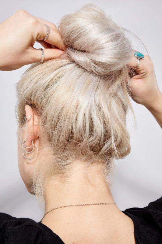 dona desarreglada cabell rubio