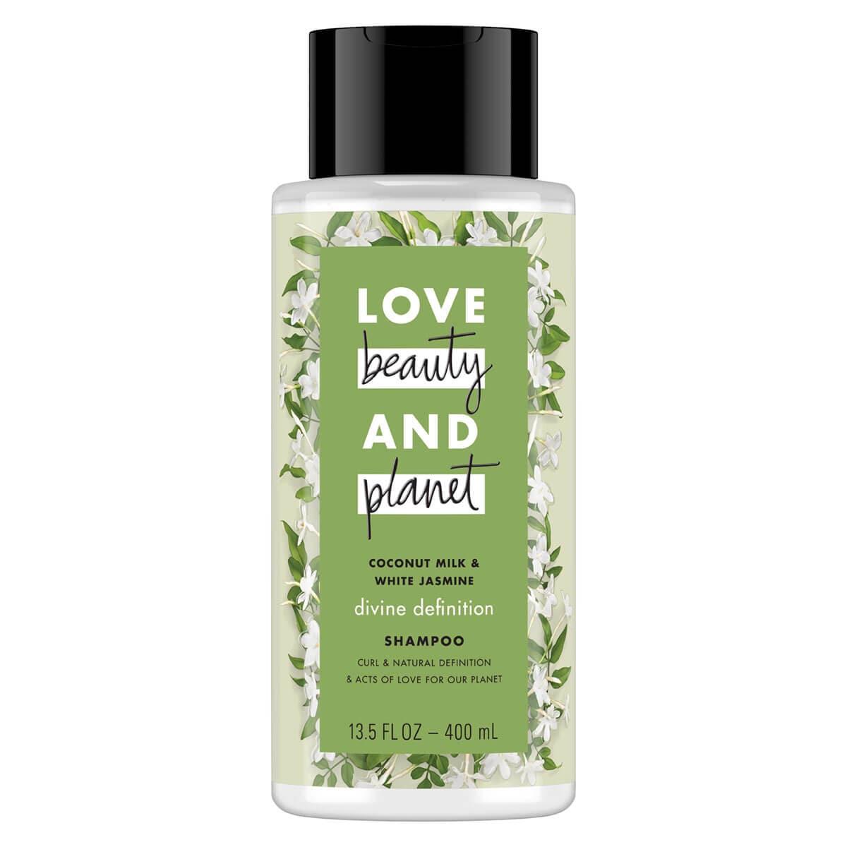 LOVE, BEAUTY and PLANET COCONUT MILK & WHITE JASMINE SHAMPOO