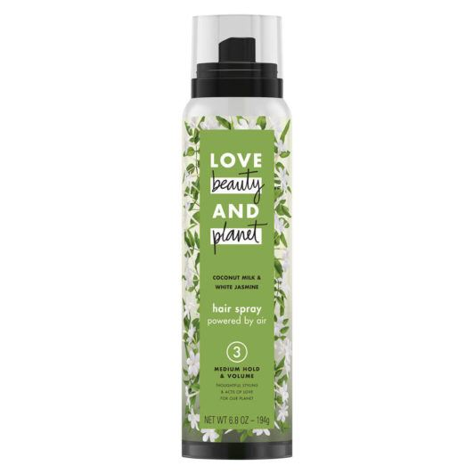 LOVE, BEAUTY and PLANET MEDIUM HOLD & VOLUME COCONUT MILK & WHITE JASMINE HAIR SPRAY