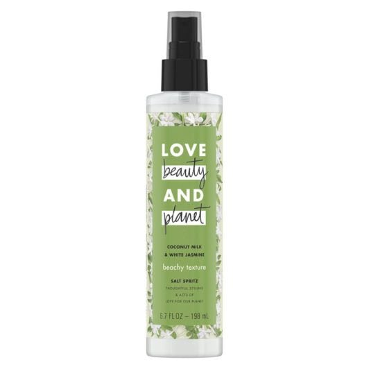 LOVE, BEAUTY and PLANET COCONUT MILK & WHITE JASMINE SALT SPRITZ TEXTURE SPRAY