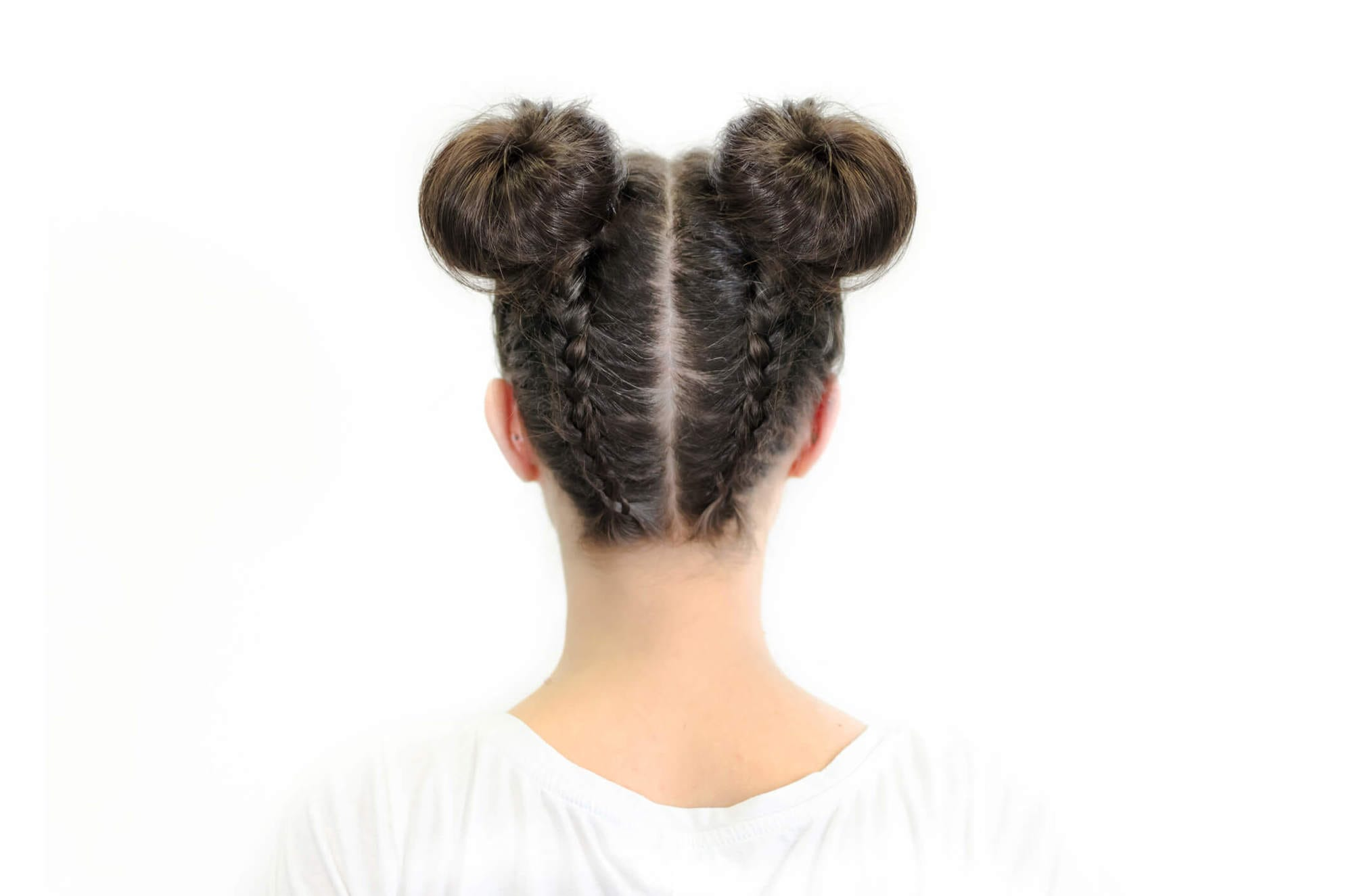 peinados recogidos con trenzas para fiestas moños trenzados de niña