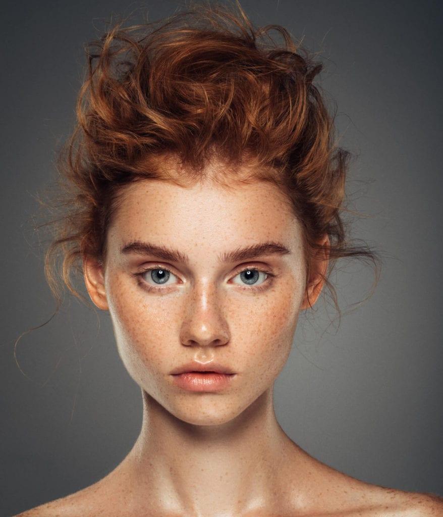 peinados sin calor recogido alto englobado