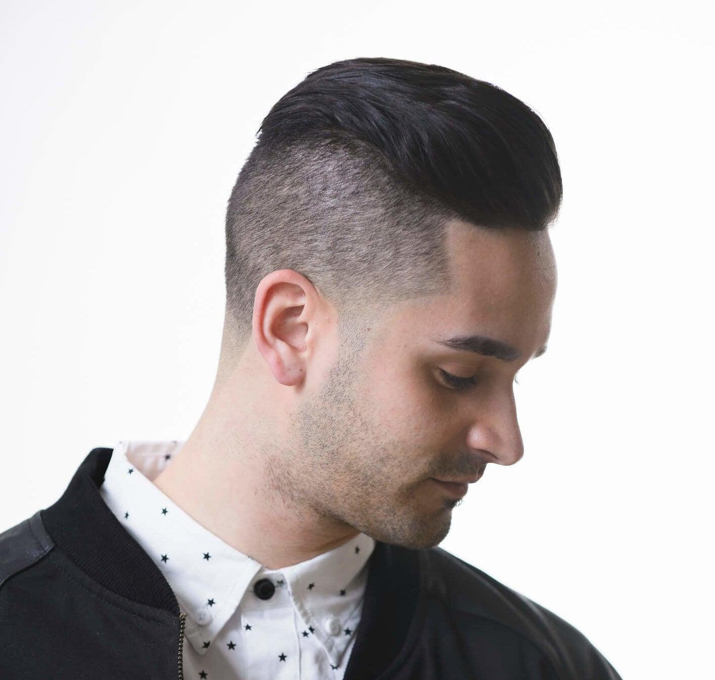 corte de pelo desvanecido undercut