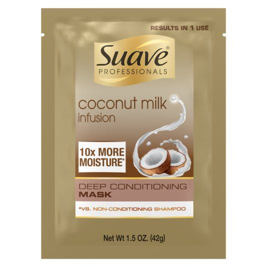 SUAVE COCONUT MILK INFUSION DEEP CONDITIONING MASK