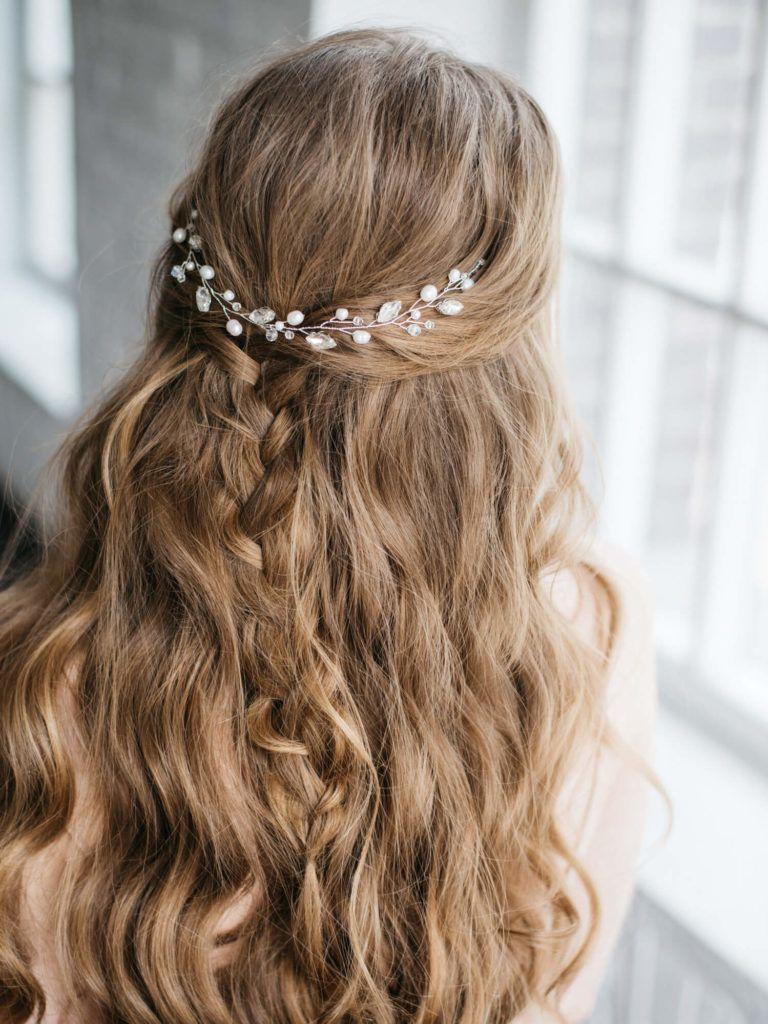 Más agudo peinados romanos pelo suelto Imagen de cortes de pelo estilo - Peinados de novia pelo suelto: 10 Estilos vintage y modernos