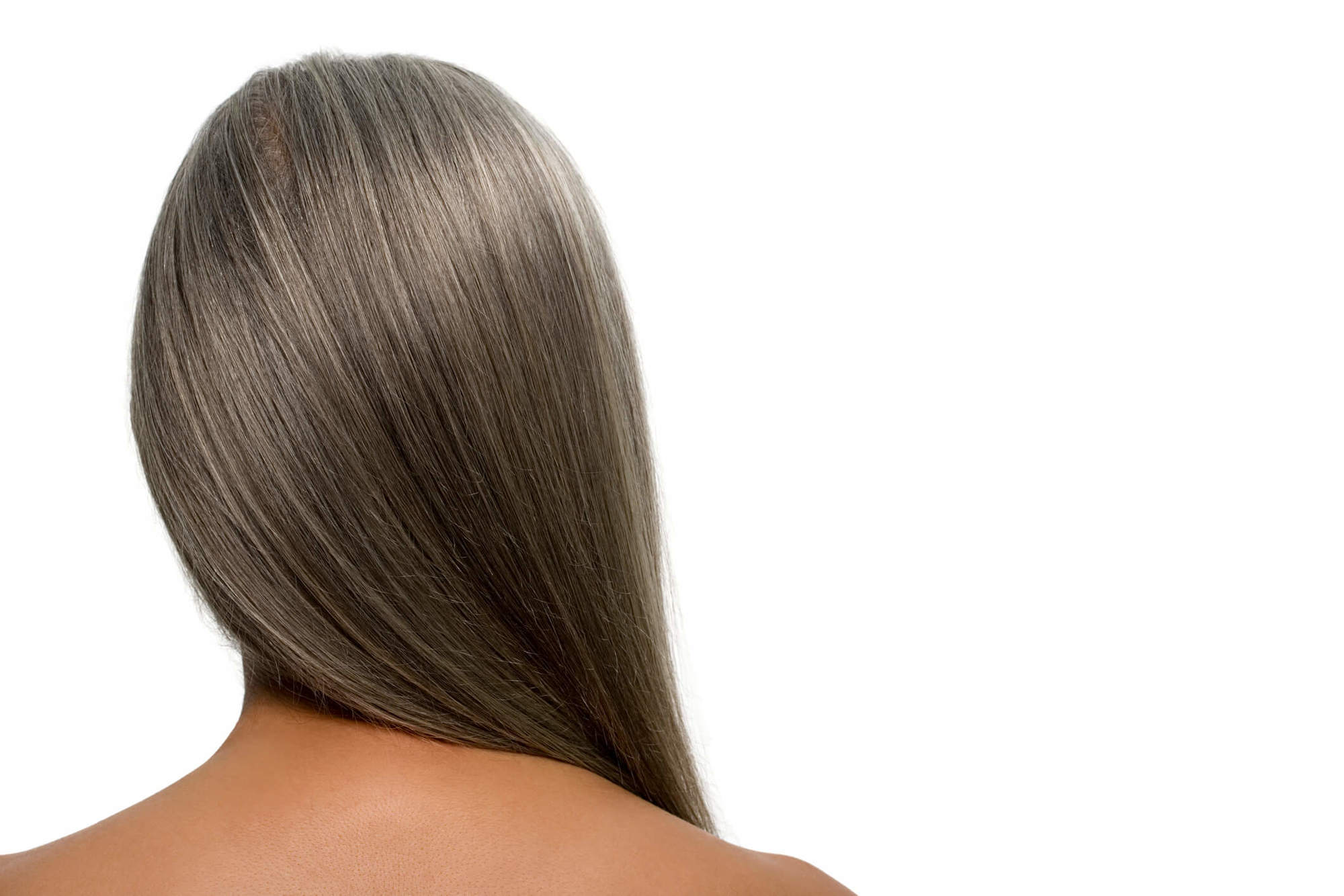 por qué salen las canas cabello largo
