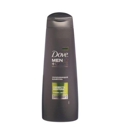 Dove Men+Care шампунь мужской Свежесть ментола укрепляющий