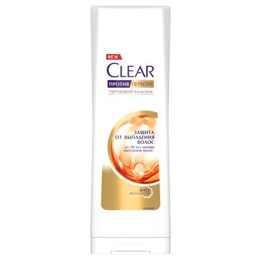 Clear «Защита от выпадения волос» шампунь против перхоти для женщин