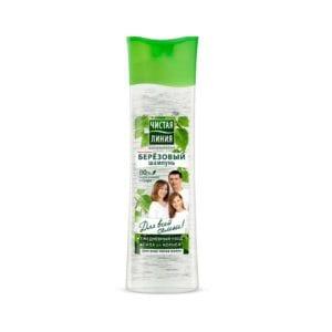 Чистая Линия шампунь для всех типов волос Березовый