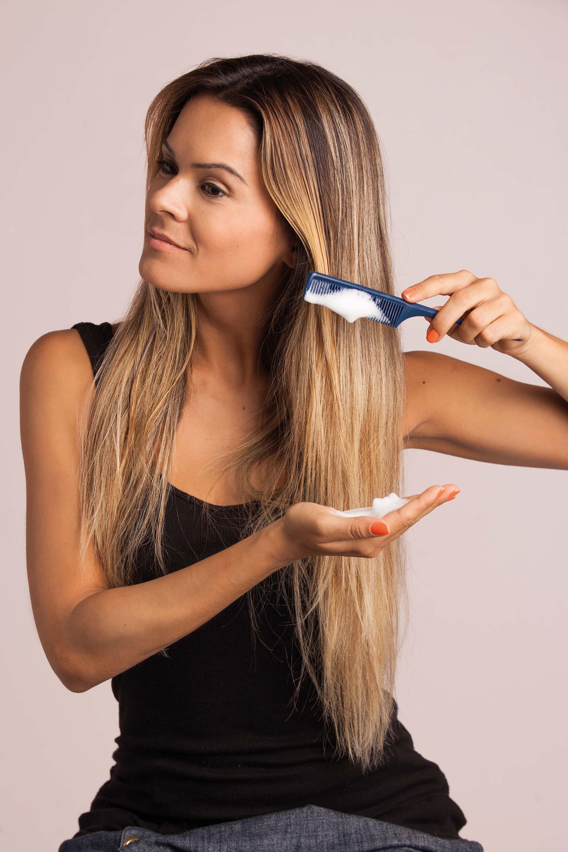 мусс для тонких волос