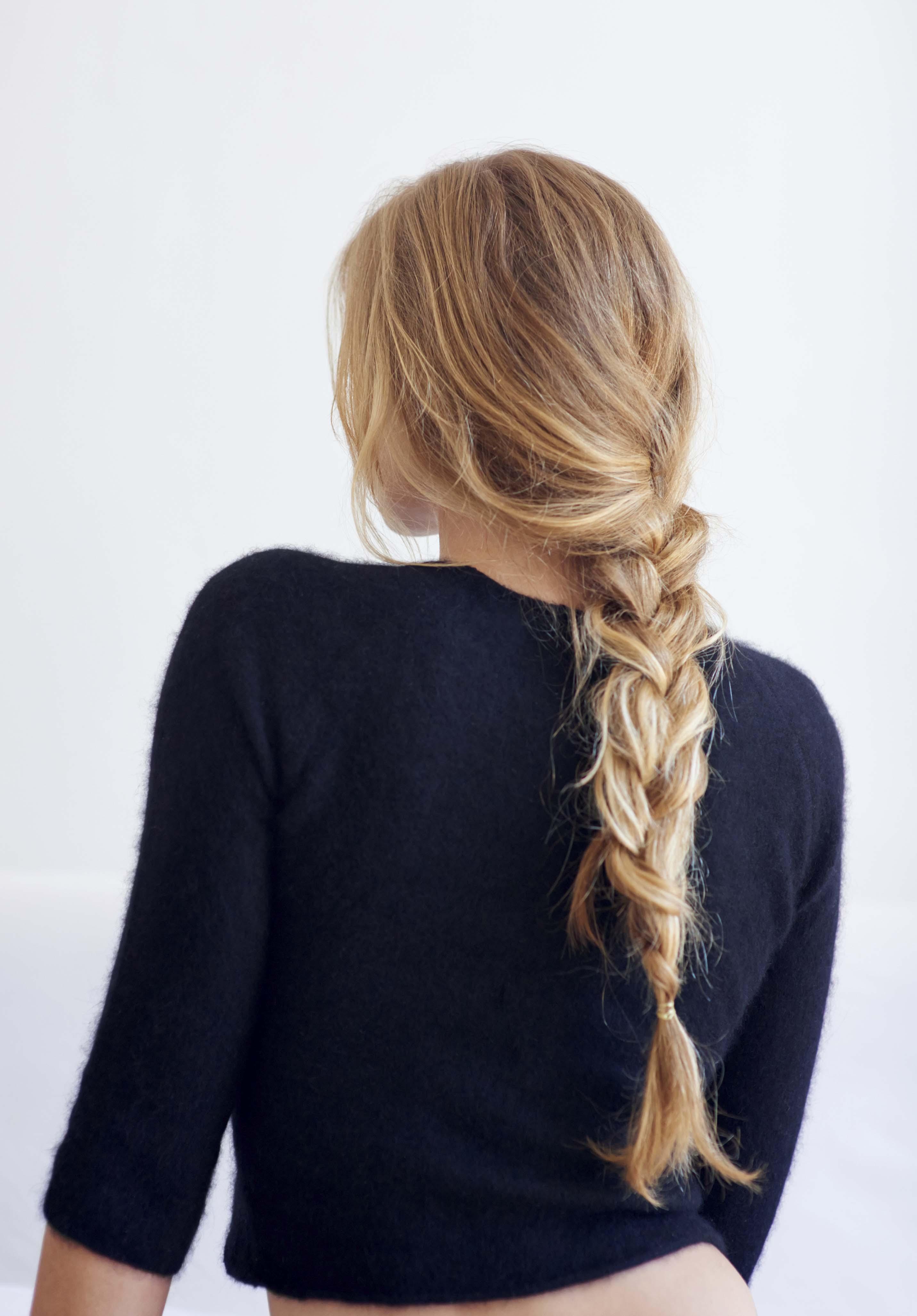 Быстрые и лёгкие причёски на каждый день фото