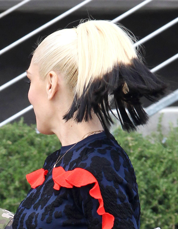 двухцветные волосы