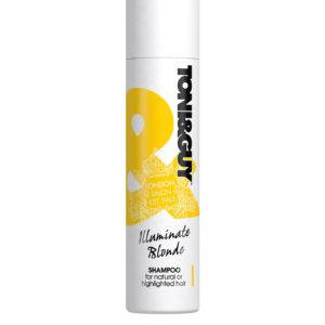 Шампунь Toni&Guy Illuminate Blonde для светлых волос