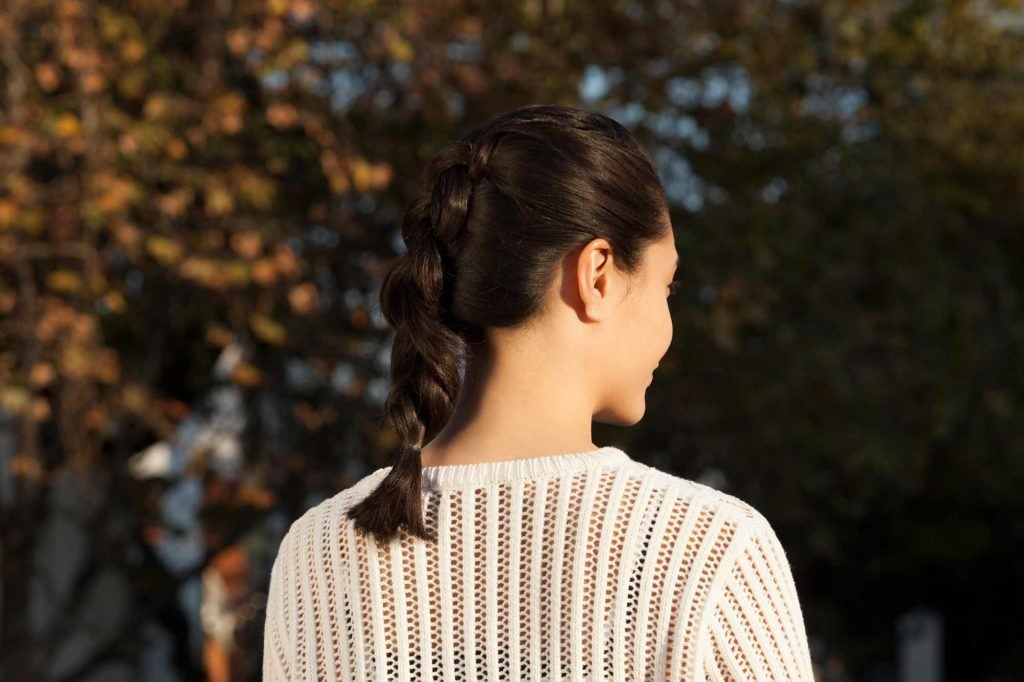 Commute-friendly hairstyle