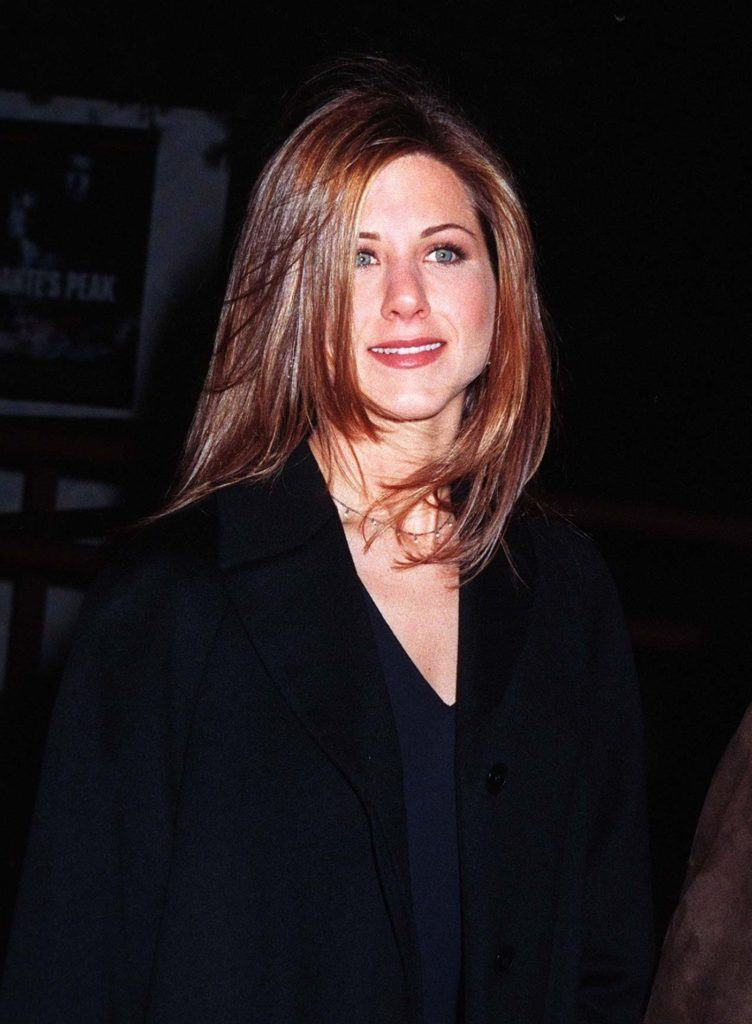 Jennifer Anniston with The Rachel hairstyle