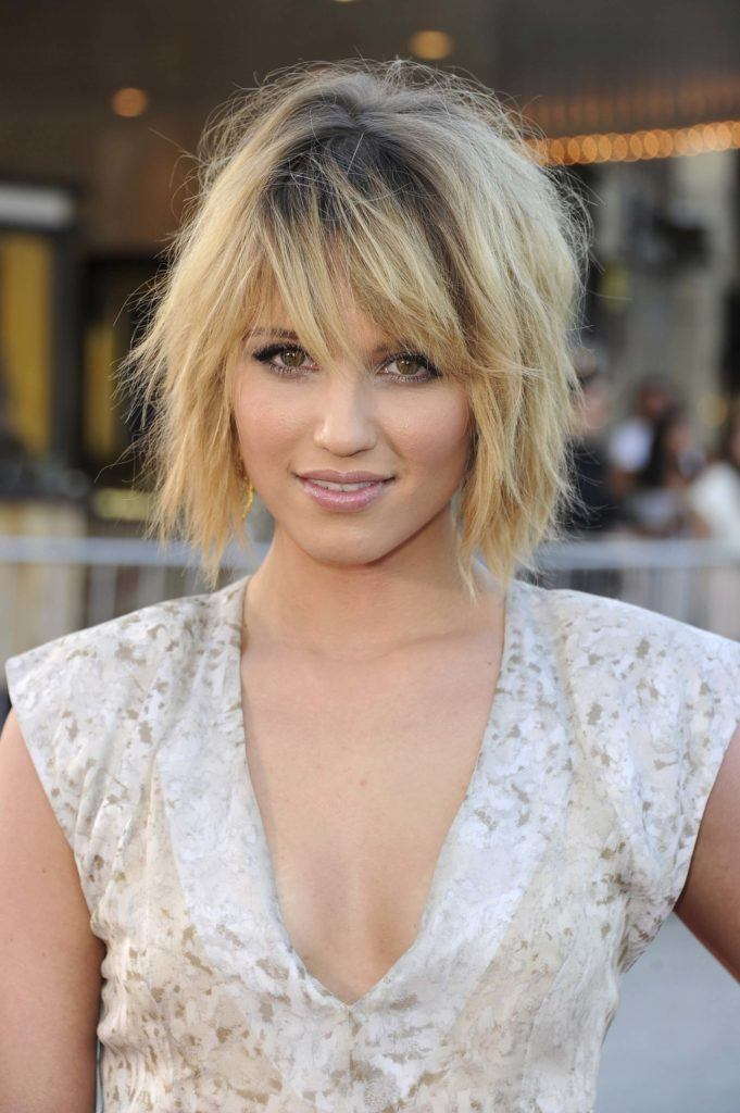 diana-agron-prom-hairstyle-for-short-hair