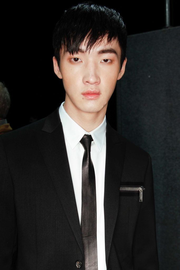 asian model showing one of trendy haircuts for men this year